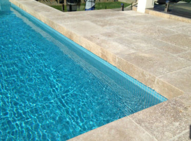 Pool Coping Drop Down