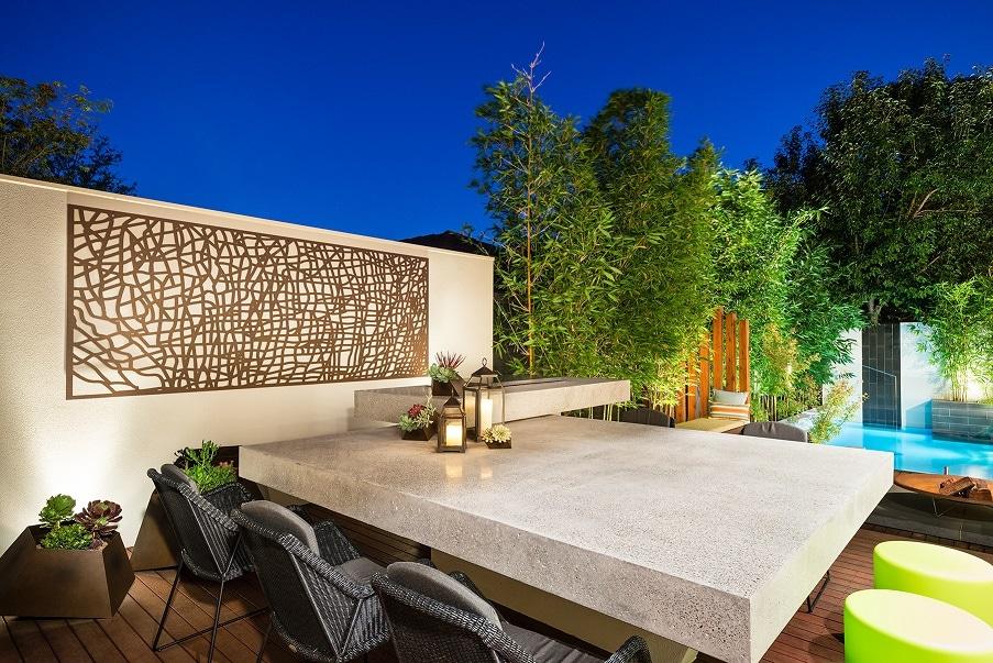 Courtyard, Courtyard Pool, Landscape Design
